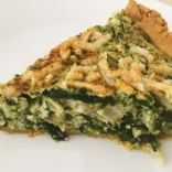 Spinach Artichoke Quiche [Gluten-Free and Vegan]